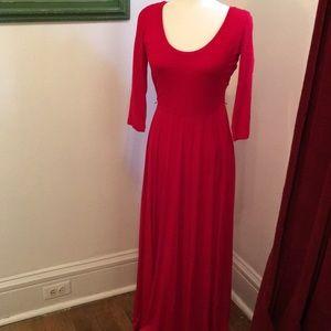 Calvin Klein Red Maxi Dress